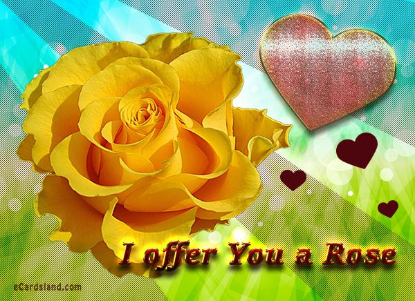 I offer You a Rose