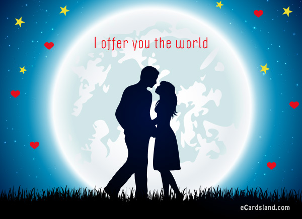 I Offer You the World