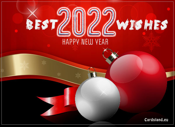 Best Wishes For The New Year 2019