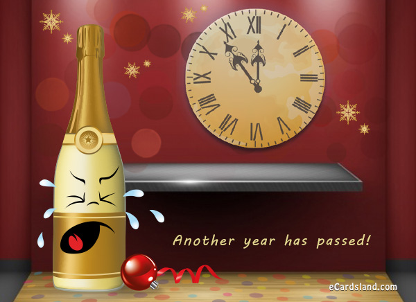 Funny New Year eCard