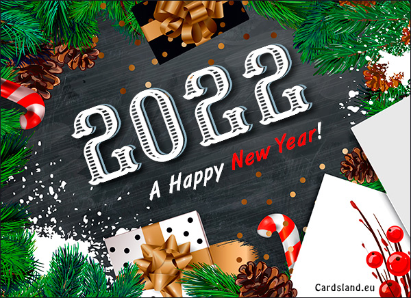 A Happy New Year 2020