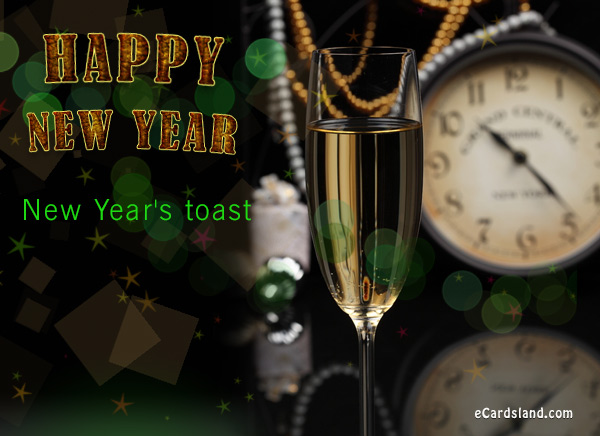 New Year's Toast