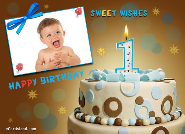 Happy 1st Birthday Boy