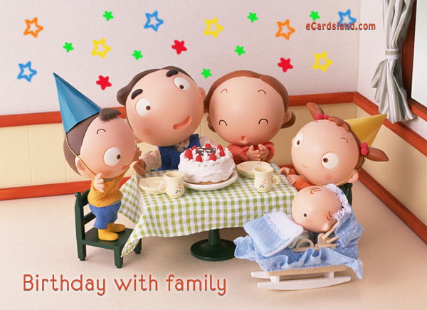 Birthday with Family