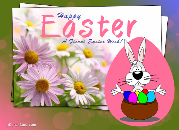 A Floral Easter Wish