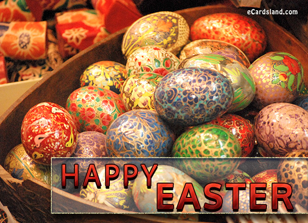 Easter Eggs eCard