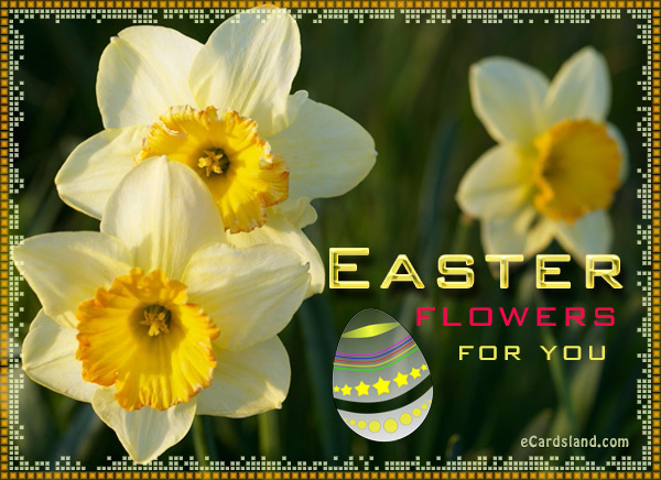 Easter Flowers for You