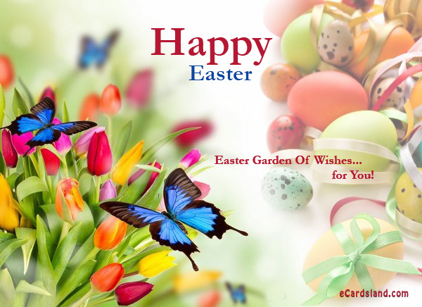Easter Garden Of Wishes