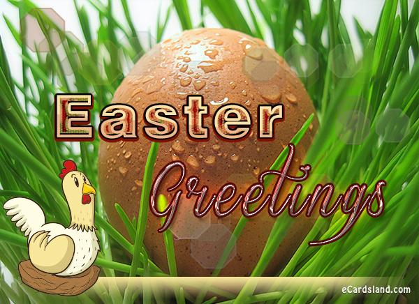 Easter Greetings eCard
