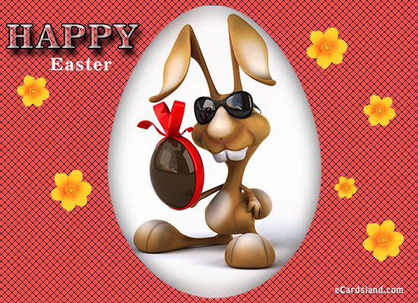 Easter Rabbit eCard
