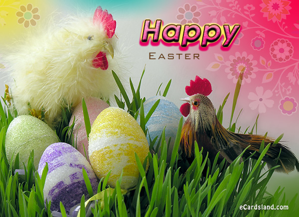 Easter Roosters