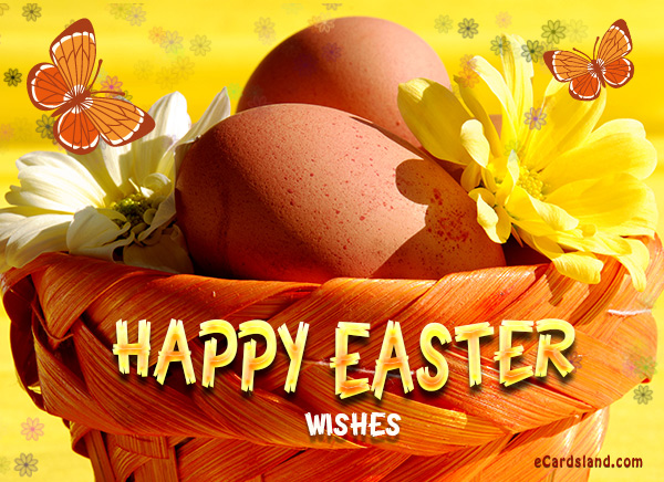 Easter Wishes eCard