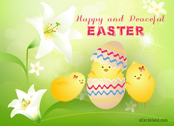 Happy and Peaceful Easter