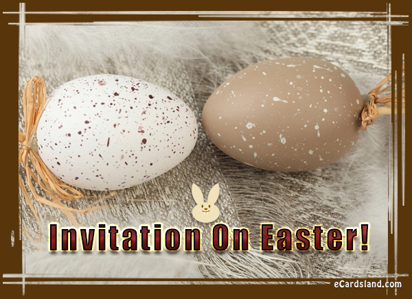 Invitation On Easter