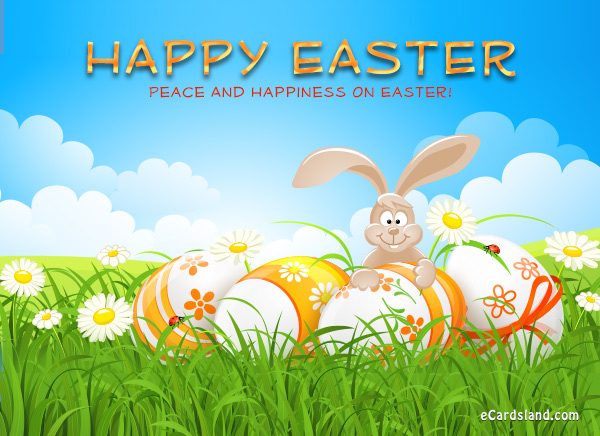 Peace And Happiness On Easter