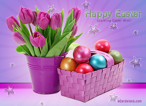 Sparkling Easter Wish