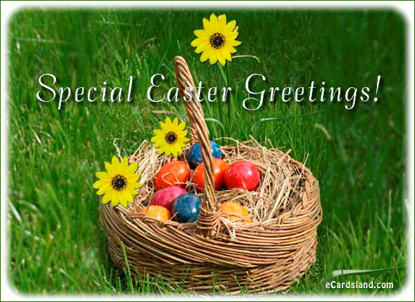 Special Easter Greetings
