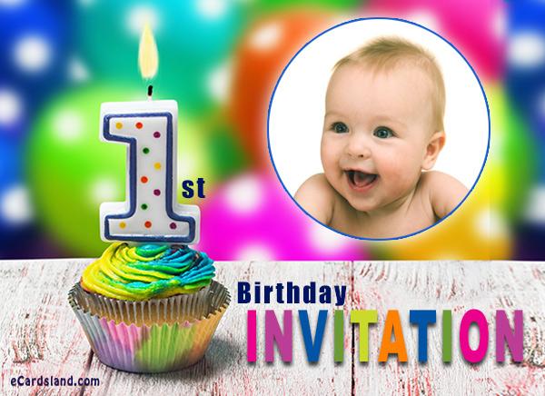 1st Birthday Invitation