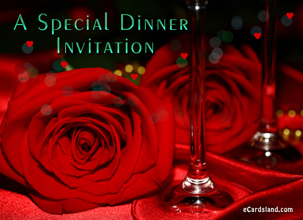A Special Dinner Invitation