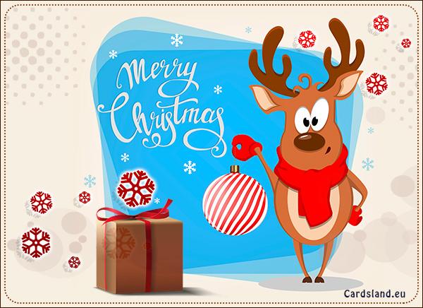 Joyful Reindeer