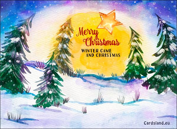 Winter Came and Christmas