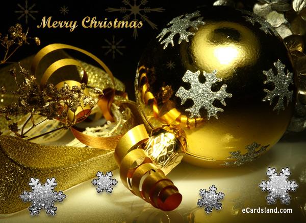 Golden Christmas