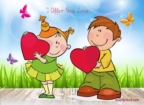 I Offer You Love