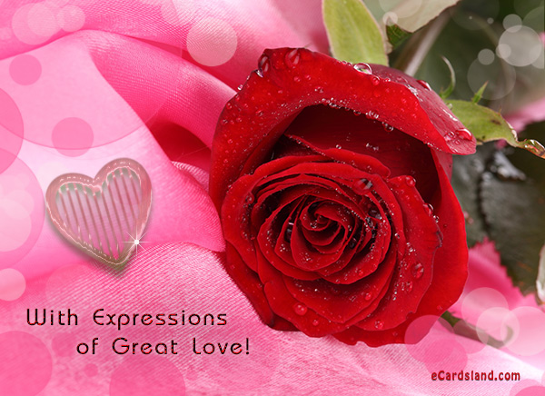 With Expressions of Great Love
