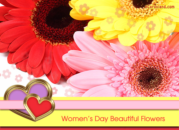 Women's Day Beautiful Flowers