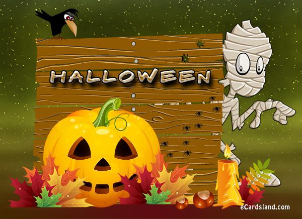 Happy Halloween Mummy