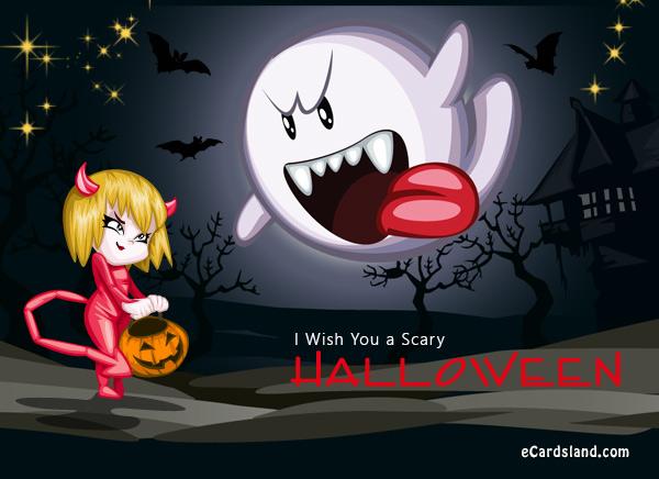 I Wish You a Scary Halloween