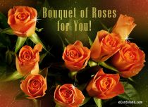 eCards Flowers Bouquet of Roses for You, Bouquet of Roses for You
