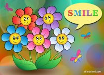 eCards Flowers Cheerful Flowers, Cheerful Flowers