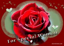 eCards Flowers For Special Woman, For Special Woman