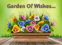eCards Flowers Garden Of Wishes, Garden Of Wishes