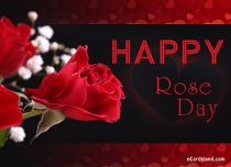 eCards Flowers Happy Rose Day, Happy Rose Day