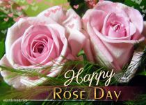 eCards Flowers Happy Rose Day eCard, Happy Rose Day eCard