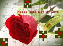 eCards - Happy Rose Day My Love,