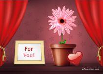 Free eCards - I offer You a Flower,