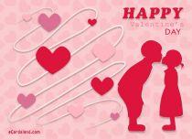 eCards Valentine's Day  Couple in Love, Couple in Love