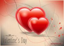 eCards Valentine's Day  Hearts eCard, Hearts eCard