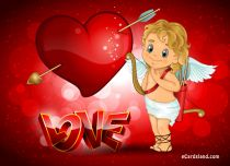 eCards Valentine's Day  Angel and Love, Angel and Love