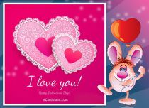 Free eCards, Valentine's Day ecards with music - Everyday I Love You,