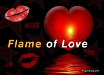 eCards Valentine's Day  Flame of Love, Flame of Love