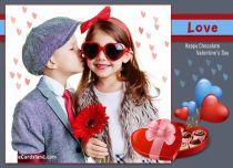 Free eCards - Happy Chocolate Valentine's Day,