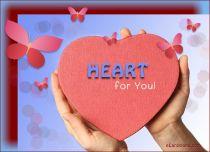 eCards Valentine's Day  Heart eCard, Heart eCard