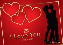 eCards Valentine's Day  I Love You Very Much, I Love You Very Much