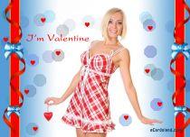 eCards Valentine's Day  I'm Valentine, I'm Valentine