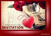 Free eCards - Invitation for Valentine's Day,