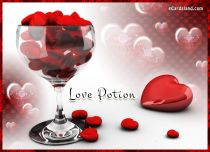 eCards Valentine's Day  Love Potion, Love Potion